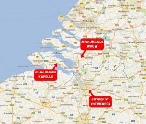 Magazijninrichting Zeeland heeft drie lokaties